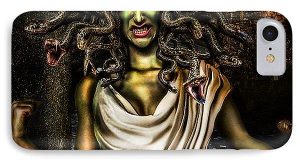 Medusa IPhone Case by Alessandro Della Pietra