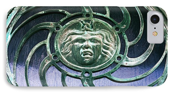 Medusa At Asbury Park  IPhone Case by John Rizzuto