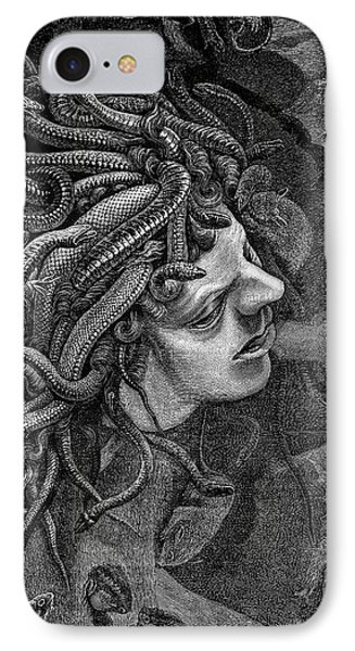 Medusa's Head IPhone Case by Collection Abecasis