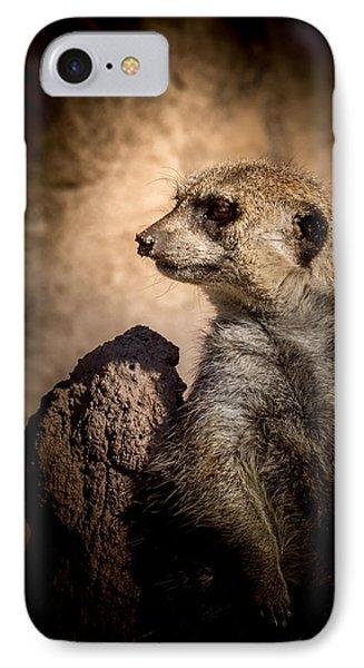 Meerkat 12 IPhone 7 Case by Ernie Echols