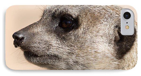 Meerkat Mug Shot IPhone Case by Ernie Echols