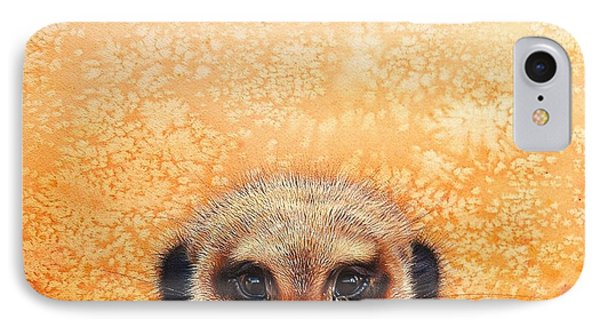 Meerkat's Smile IPhone Case by Elena Kolotusha