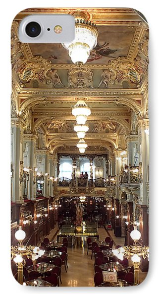 Meet Me For Coffee - New York Cafe - Budapest IPhone Case by Lucinda Walter