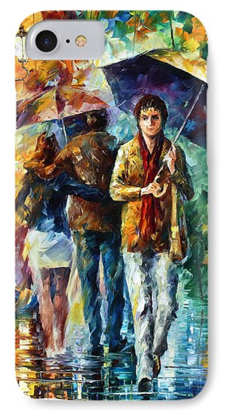 Meeting My Ex Phone Case by Leonid Afremov