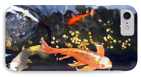 Meetings On The Riverbank IPhone Case by Patricia Januszkiewicz