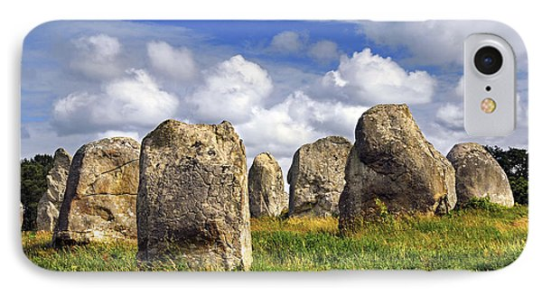 Megalithic Monuments In Brittany Phone Case by Elena Elisseeva