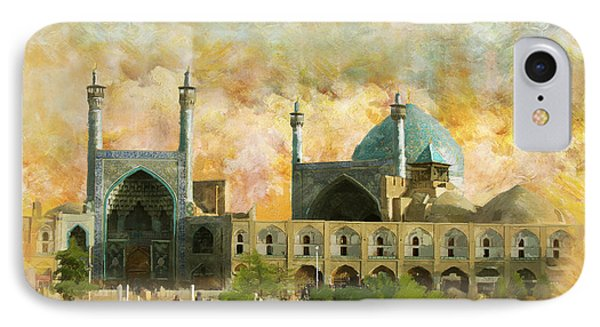 Meidan Emam Esfahan Phone Case by Catf