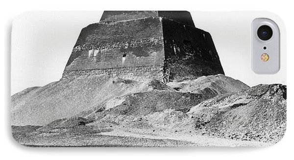 Meidum Pyramid, 1879 Phone Case by Science Source