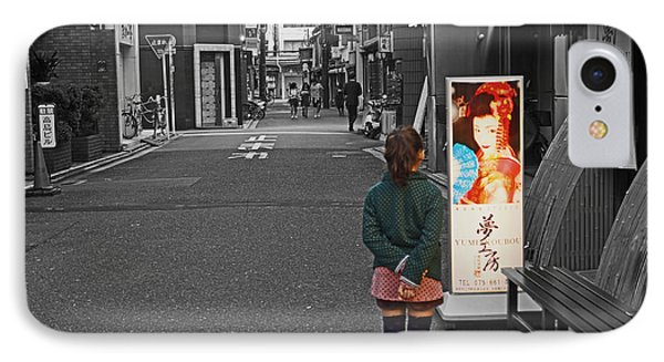 IPhone Case featuring the photograph Meiko Dreams by Cassandra Buckley