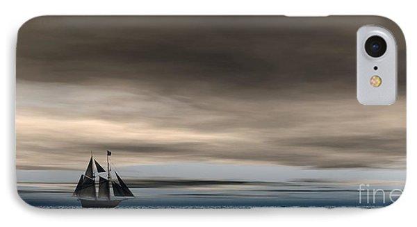 Melancholy Waters IPhone Case by Sandra Bauser Digital Art
