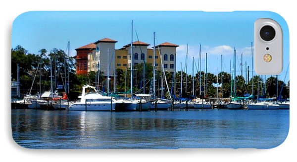 IPhone Case featuring the photograph Melbourne Harbor by Kay Gilley