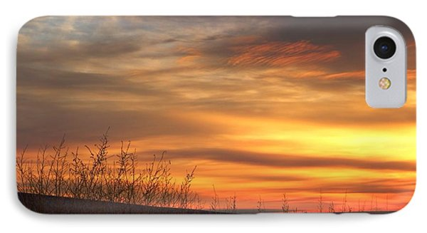 IPhone Case featuring the photograph Mellow Sunrise by Lynn Hopwood