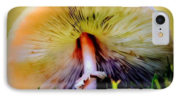 Mellow Yellow Mushroom Phone Case by Karen Wiles