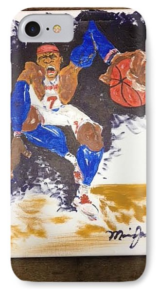 Melo Phone Case by Maurice Jackson