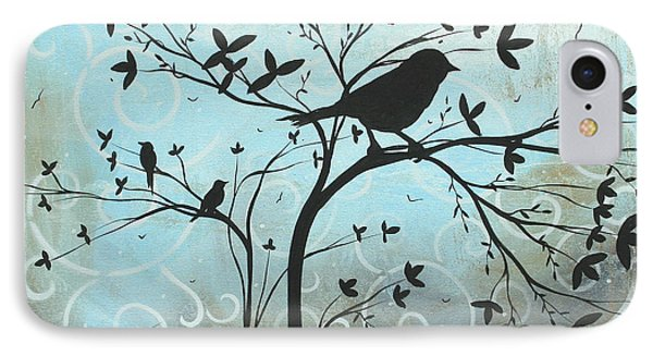 Melodic Dreams By Madart Phone Case by Megan Duncanson