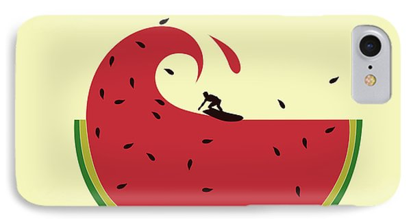 Melon Splash IPhone 7 Case by Neelanjana  Bandyopadhyay