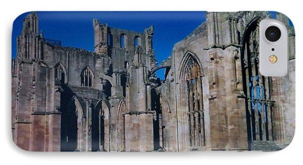 Melrose Abbey  Scotland IPhone Case