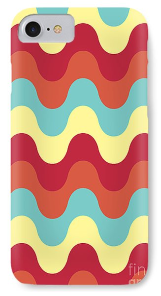 Melting Colors Pattern IPhone Case