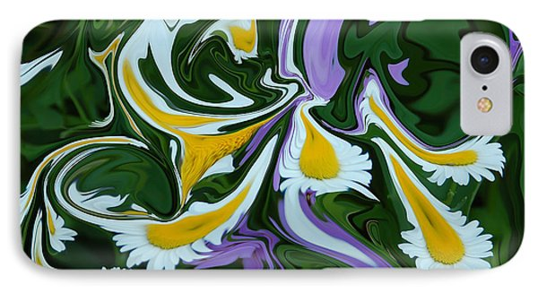 Melting Daisies IPhone Case by Aimee L Maher Photography and Art Visit ALMGallerydotcom