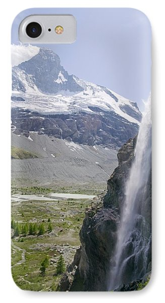 Melting Glaciers IPhone Case by Ashley Cooper