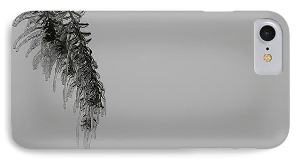 IPhone Case featuring the photograph Melting Ice by Edwin Alverio