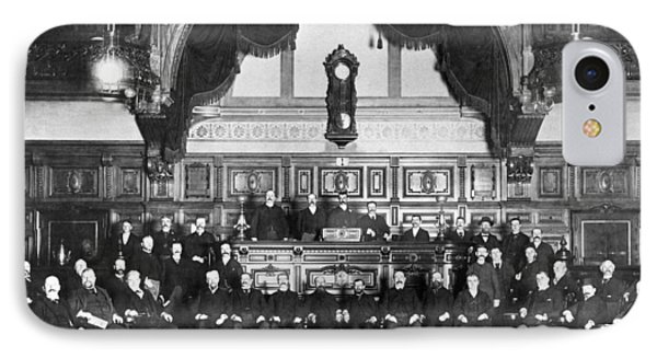 Members Of Sf Stock Exchange IPhone Case by Underwood Archives
