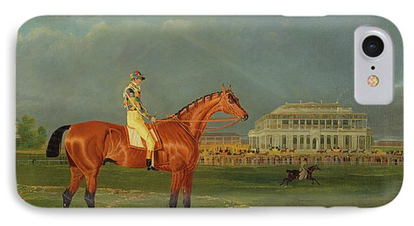 Memnon, With William Scott Up Memnon With William Scott IPhone Case by Litz Collection