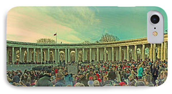Memorial Amphitheater At Arlington National Cemetery Phone Case by Tom Gari Gallery-Three-Photography