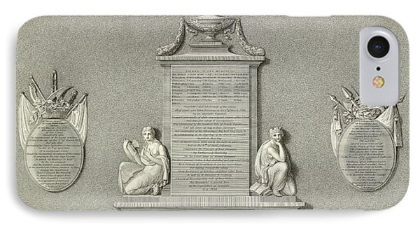 Memorial IPhone Case by British Library