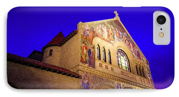 Memorial Church Stanford University IPhone Case by Scott McGuire