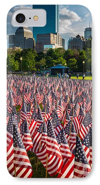 Memorial Day In Boston IPhone Case by Inge Johnsson