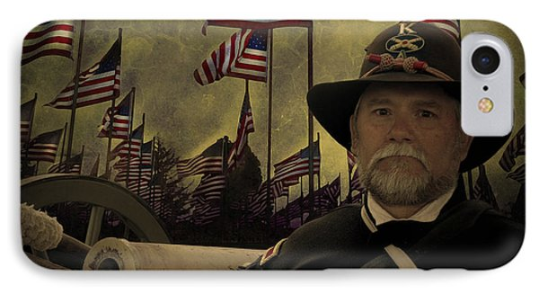 Memorial Day - Remembering The Fallen IPhone Case by Jeff Burgess