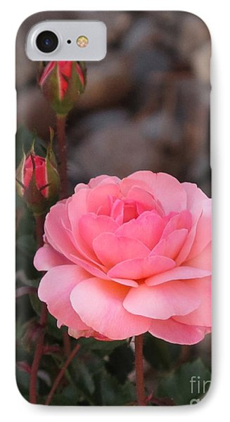 Memorial Day Rose Phone Case by Phyllis Kaltenbach