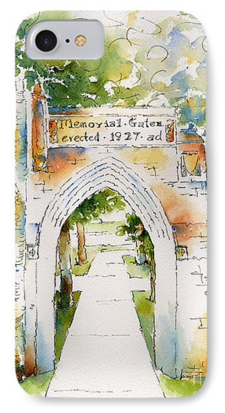 Memorial Gates Phone Case by Pat Katz