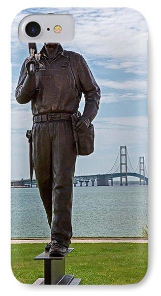 Memorial To Bridge Workers IPhone Case