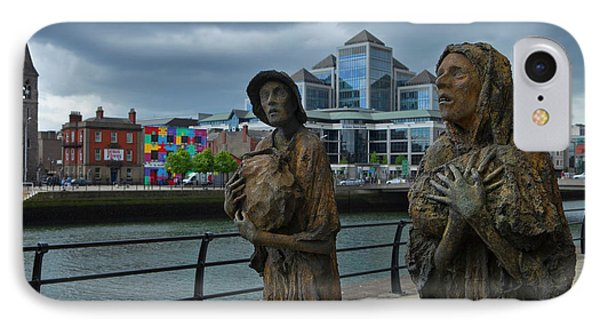 Memorial To The Famine Victims IPhone Case by Panoramic Images