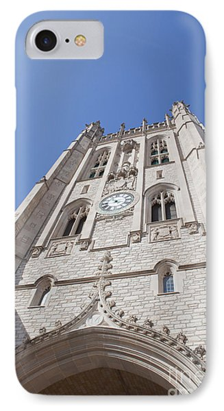 Memorial Union Clock Tower IPhone Case