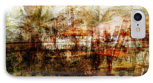IPhone Case featuring the mixed media Memories #1 by Sandy MacGowan