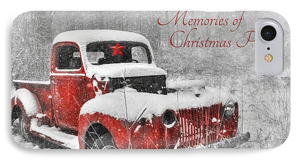 Memories Of Christmas Past IPhone Case by Lori Deiter