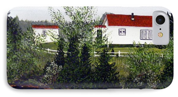 Memories Of Home  Phone Case by Barbara Griffin