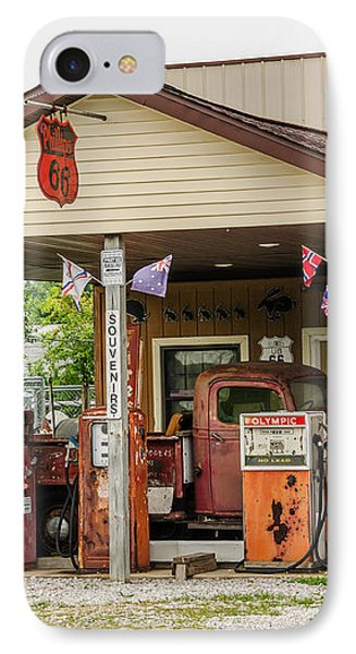 Memories Of Route 66 IPhone Case by Sue Smith