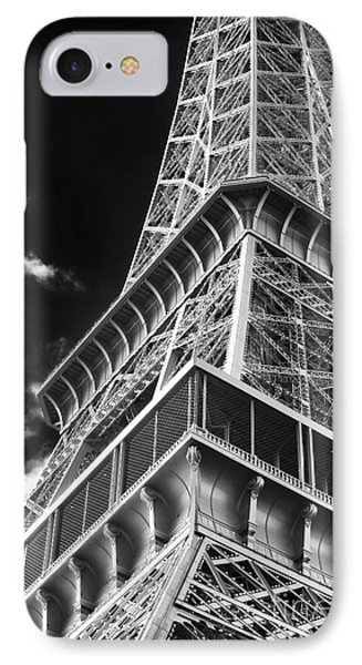 Memories Of The Eiffel Tower Phone Case by John Rizzuto