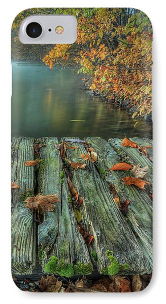 Memories Of The Lake IPhone Case by Jaki Miller