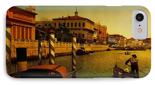 IPhone Case featuring the painting Memories Of Venice No 1 by Douglas MooreZart