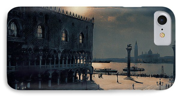 IPhone Case featuring the painting Memories Of Venice No 2 by Douglas MooreZart