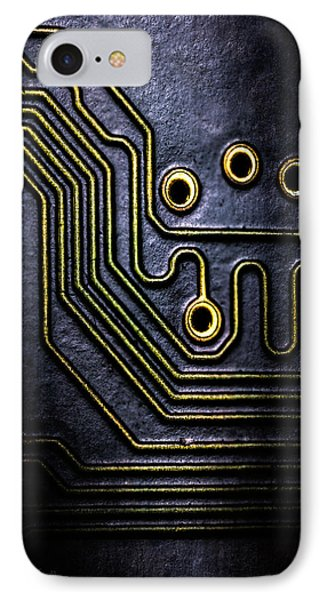 Memory Chip Number Two Phone Case by Bob Orsillo