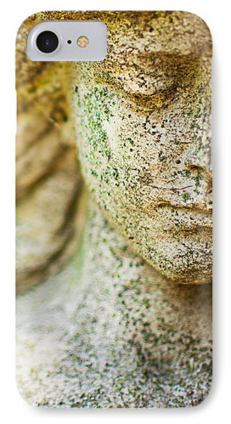 Memphis Elmwood Cemetery - Girl With Cross Square IPhone Case