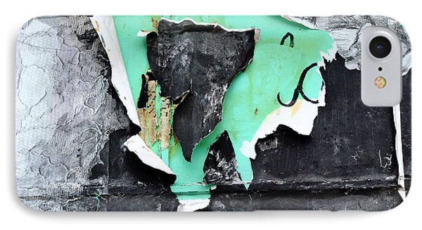 Memphis Found Art Green Good On Ya IPhone Case by Steve Archbold