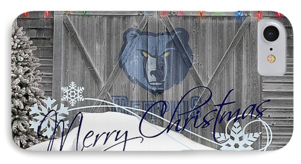 Memphis Grizzlies Phone Case by Joe Hamilton