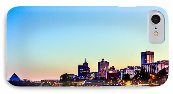 Memphis Morning - Bluff City - Tennessee IPhone Case by Barry Jones